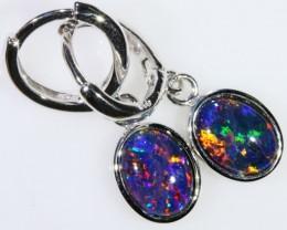 Gem Opal Triplet Earring SB 210