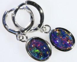 Gem Opal Triplet Earring SB 211