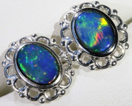 Gem Opal Triplet Earring SB 217