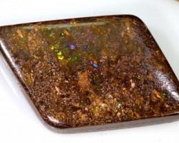 79cts Quality Boulder Opal Cut Stone AB49