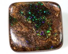 31.50cts Quality Boulder Opal Cut Stone AB40