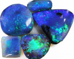 13.30 CTS CLEAN PRE SHAPED BLACK  OPAL  ROUGH PARCLE  -LIGHTNING RIDGE [BR4