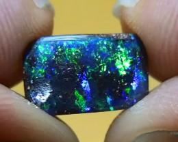 1.75 ct Beautiful Gem Blue Green Natural Queensland Boulder Opal