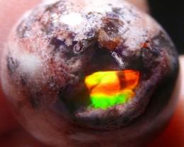 6ct Natural Mexican Matrix Cantera Multicoloured Fire Opal
