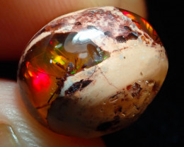 8.32ct Mexican Matrix Cantera Multicoloured Fire Opal