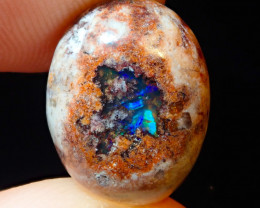 6.12ct Mexican Matrix Cantera Multicoloured Fire Opal