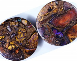 177.25 Cts Pair Koroit opals  BU 2264