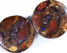 194.20 Cts Pair Koroit opals  BU 2266