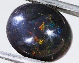 4.2 CTS INDONESIAN  BLACK OPAL STONE POLISHED. [VS7255 ]