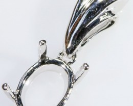 Pendant settings buy pendant settings online opal auctions 18ct new white gold pendant setting sb 230 mozeypictures Choice Image