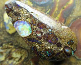28cts.WE MINE~BOULDER MATRIX OPAL,