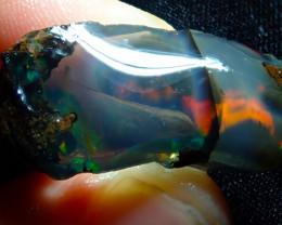 42.51ct Ethiopian Crystal Rough Opal Specimen