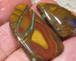 OpalWeb *86.2Cts - Yowah Boulder Matrix Opal 'RUBS'
