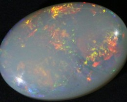 1.95 CTS WHITE FIRE FREE FORM OPAL STONE  DEAL [CP1870]
