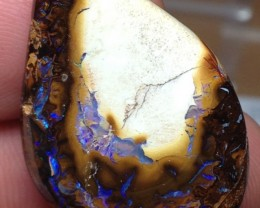 BARGAIN BUY IT NOW Boulder Opal Picture Stone AB881 32.5cts