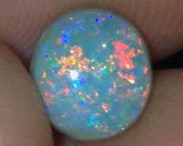 2ct Lightning Ridge Gem Semi Black Opal