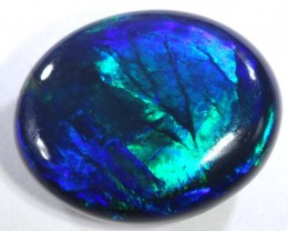 N1-  4.15 cts BLACK Lightning Ridge Opal Cut Stone C-365