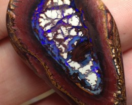 BARGAIN BUY IT NOW Boulder Opal Picture Stone AB946 64cts