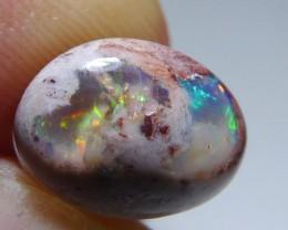 4.5ct Mexican Matrix Opal Landscape Cantera Wire Wrap Ready