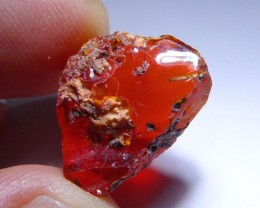 10ctNice Brilliant AAA/TOP Clean Rough Mexican Fire Opal Crystal