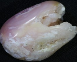 79.35 Cts Peru pink Opal/Druzy Chalcedony Specimen PPP272