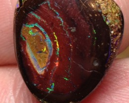 BARGAIN BUY IT NOW Boulder Opal Picture Stone AB969 14cts