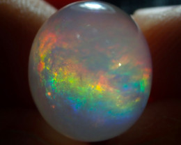 $1 NR Auction 9.8ct Contraluz Mexican Multicoloured Fire Opal