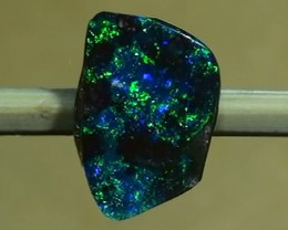 0.80 ct Beautiful Gem Blue Green Natural Queensland Boulder Opal
