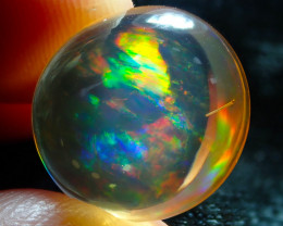 $1 NR Auction 9.48ct Mexican Multicoloured Fire Opal