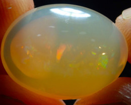 $1 NR Auction 13.8ct Mexican Multicoloured Fire Opal