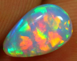 1.25cts RAINBOW PATCHWORK Natural Untreated Ethiopian Welo Opal