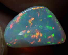 10ct Brilliant Supreme Multicoloured Metallic Base Wello Opal
