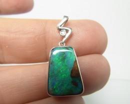 13ct solid boulder opal