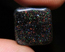 3ct 13x12mm Solid Treated Andamooka Matrix Opal
