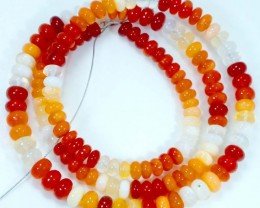 65 CTS MEXICAN FIRE OPAL STRANDS FOB-768