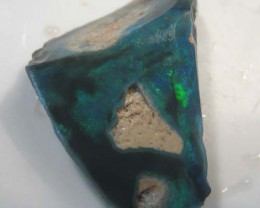 9.35 CTS  BLACK OPAL ROUGH / RUB FROM LIGHTNING RIDGE