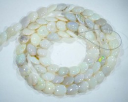 56CTS  OPAL BEADS FLAT OVAL DRILLED TBO-5002