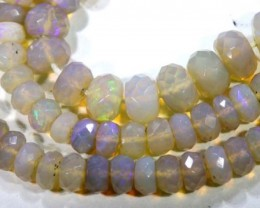 68 CTS BLACK OPAL BEADS DRILLED TBO-5013