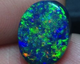 3.63ct Lightning Ridge Gem Black Opal FOMC5