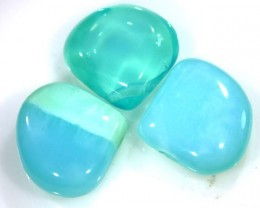 14 CTS PERU BLUE OPAL BEADS DRILLED LO-3996