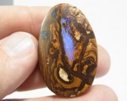 68 ct solid boulder opal