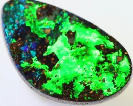 2.63 CTS FLASHY GREEN  BOULDER OPAL [Q2405]SH
