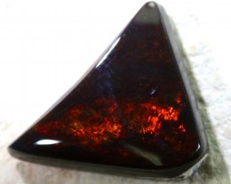 N1-  6 CTS QUALITY BLACK SOLIDOPAL LIGHTNINGRIDGE INV-39 R