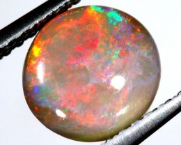 N4 - 1.15 cts BLACK Lightning Ridge Opal Cut Stone C-376