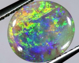 N5- 1 cts SOLID Lightning Ridge Opal Cut Stone C-377