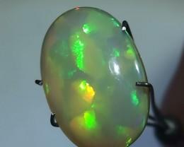 4.55 ct Stunning Blocky Pattern Gem Bright Rainbow Welo Cab