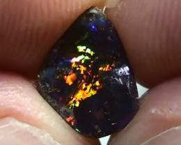 1.20 ct Boulder Opal With Gem Multi Color