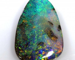 8.90 CTS Natural Australian Boulder Opal Solid Stone C--382