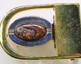 Koroit Opal Belt Buckle  Bu 2442