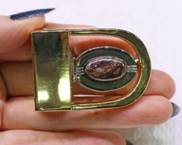 Koroit Opal Belt Buckle  Last One ! Bu 2439